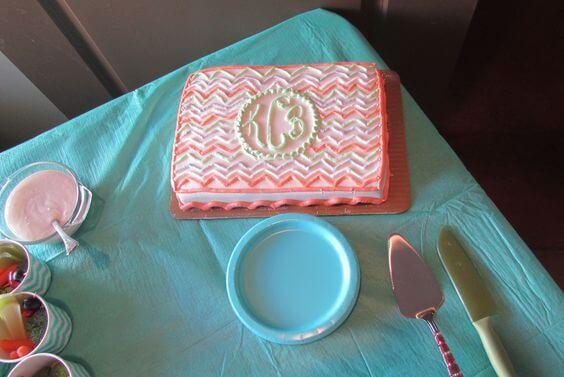 Harris Teeter Bakery Baby Shower Cake