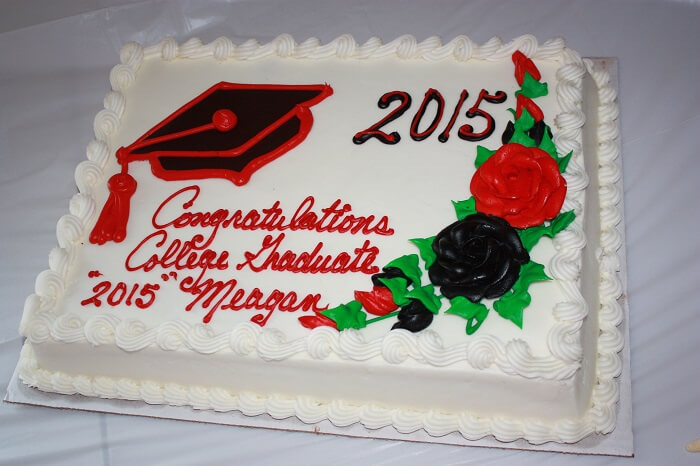 costco graduation cake custom