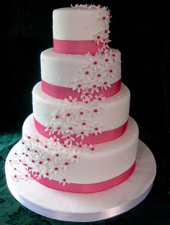 Wedding Cake Pics From Sams