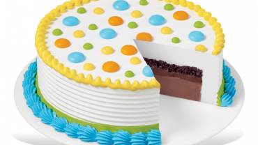 dairy queen round birthday cake