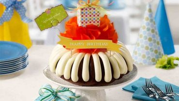 nothing bundt cakes birthday cake
