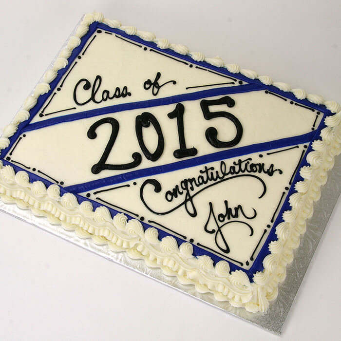 central market graduation cake design