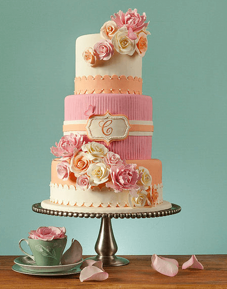 couture cakes roses wedding cake