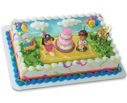dora themed cake