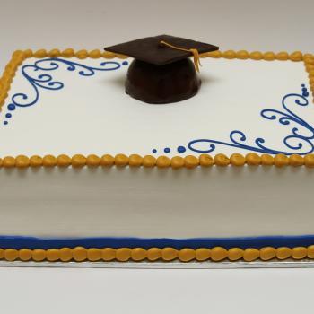 portos cakes graduation cake