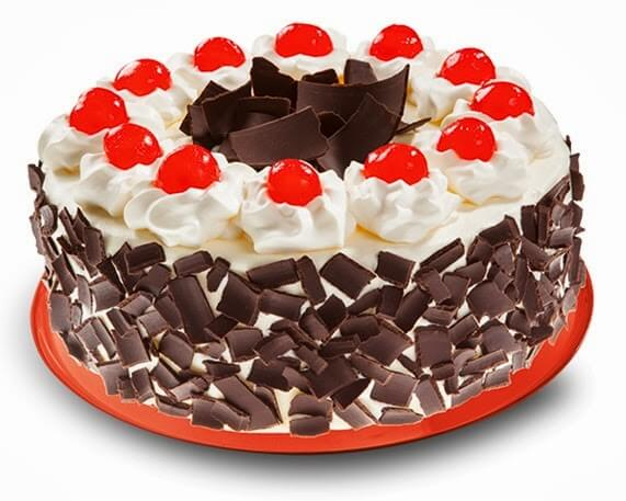 Red Ribbon Cakes Black Forest Cake