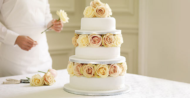 order wedding cakes at waitrose