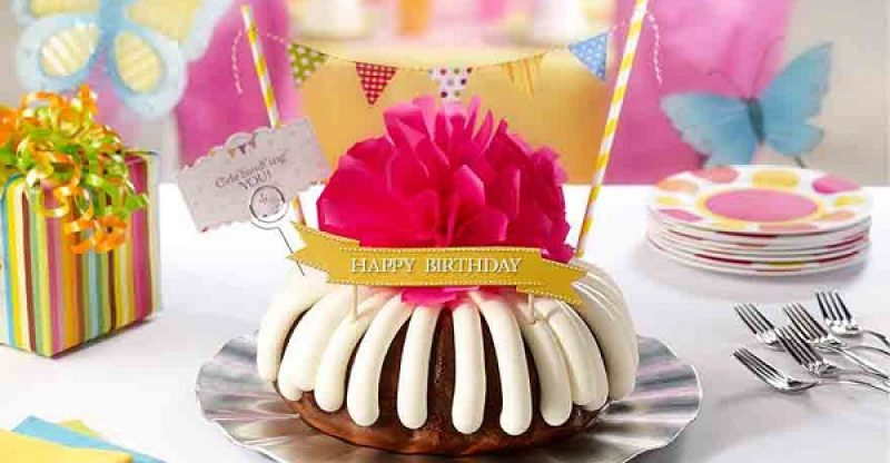 order birthday cakes - nothing bundt cakes