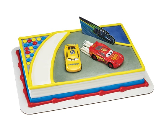 Cake With Cars 3 Theme