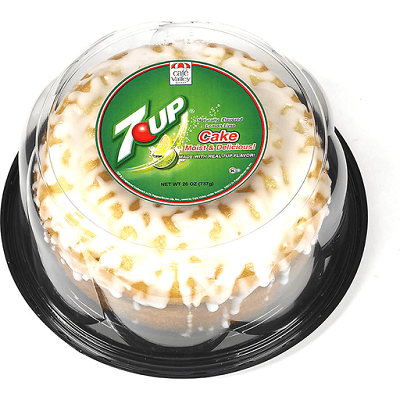 cake containing 7 up