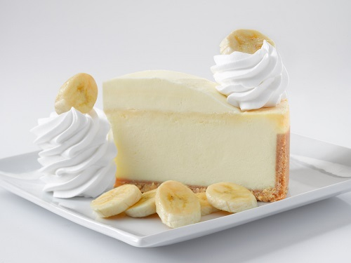 cheesecake with bananas