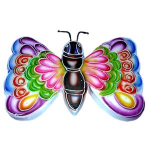 cake shaped like a butterfly