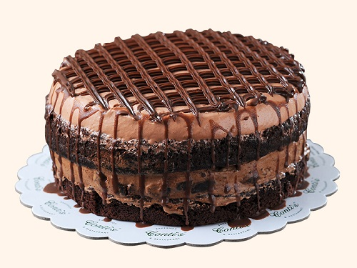 chocolate layered cake