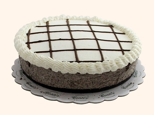 cheesecake with cookies and cream flavor