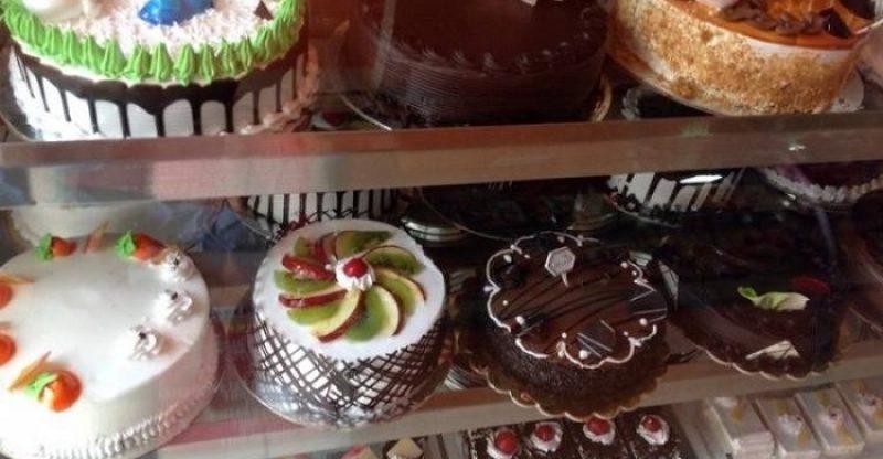 Denish cake display