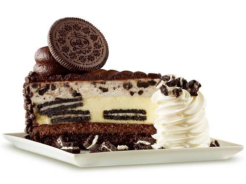 cheesecake with oreos