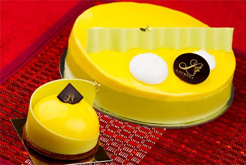 yellow Shikoku cake