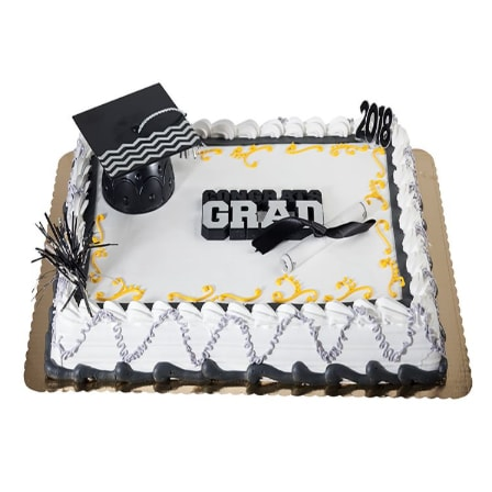 graduation cake from shoprite