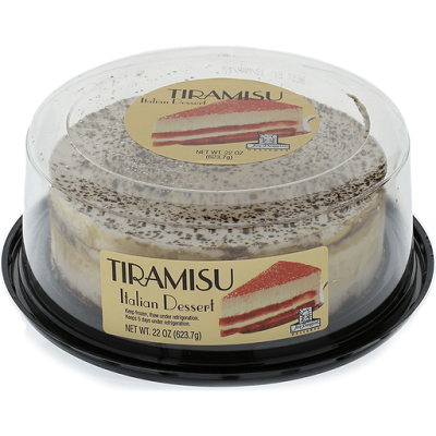 packaged tiramisu cake