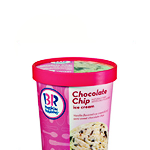 baskin Robbins Chocolate Chip Ice Cream