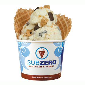Sub zero sundae