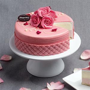 Rose Whisper Cake