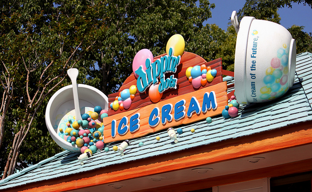 dippin dots ice cream store