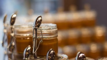 jars of caramel