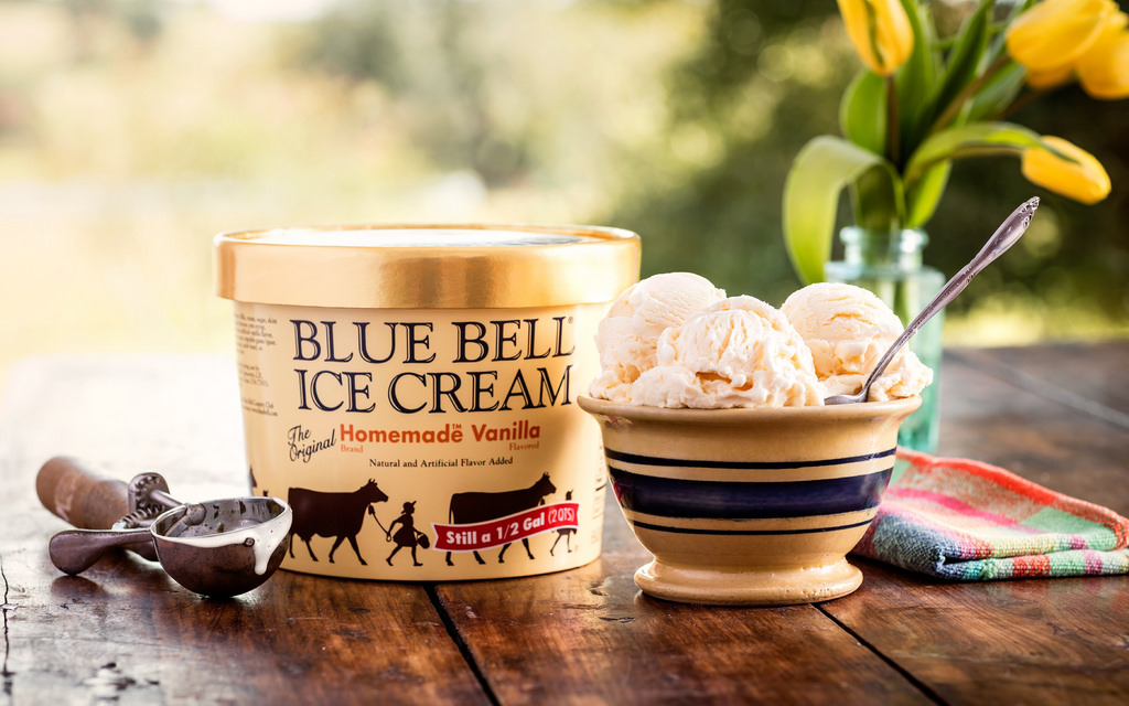 blue bell ice cream homemade vanilla flavor