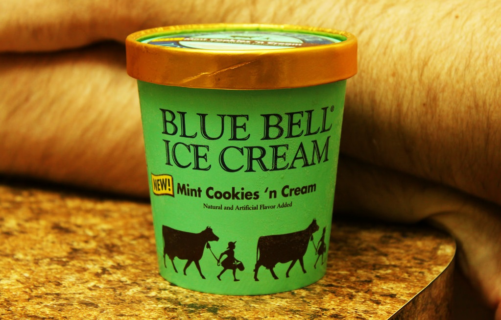 Blue Bell Ice Cream Flavors with Cookies