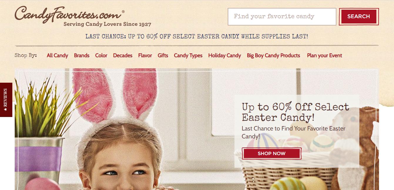 candy favorites website