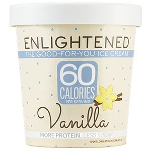 Enlightened - The Good For You Ice Cream, High Protein-Low Sugar-High Fiber-Low Fat, Vanilla